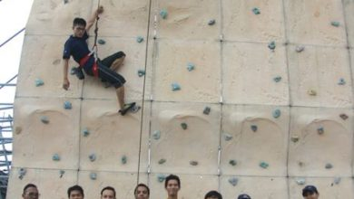 Photo of ICC Free Wall Climbing Session