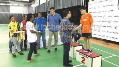 Photo of Amanjaya Badminton Championship