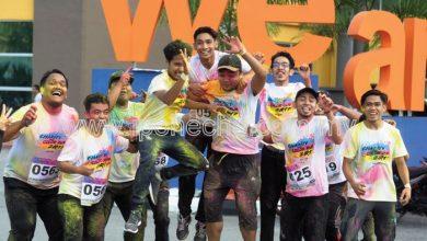 Photo of A Fun Colourful Run