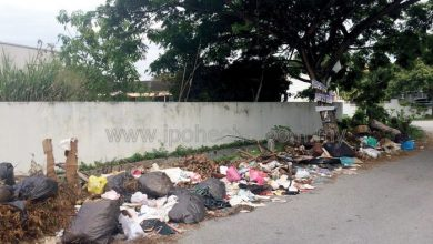 Photo of Illegal Dumping in Ipoh Garden
