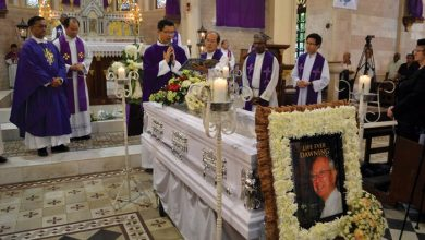 Photo of Solemn Tribute to Brother Vincent