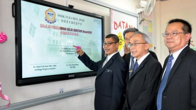 Photo of New Smart Boards in Yuk Choy