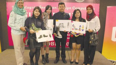 Photo of Ipoh Student Shines at Footwear Competition