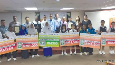 Photo of Pangkor Island School Recycling Competition Winner