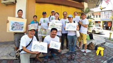 Photo of Urban Sketchers Ipoh