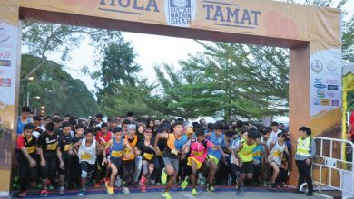 Photo of 5000 Joined Sultan Nazrin Shah Run