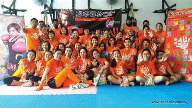 Photo of First Muay Thai Aerobics in Malaysia Held in Perak