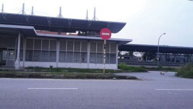 Photo of KTM Ipoh Back Gate Not Supervised