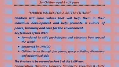 Photo of Living Values Education Programme for children aged 8-14 years (16 Apr 2017)
