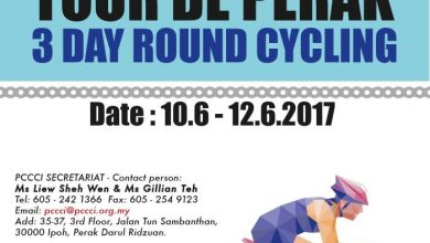 Photo of Tour De Perak – 3-Day Round Cycling (10-12 Jun 2017)
