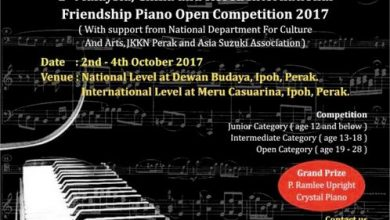 Photo of International Friendship Piano Open Competition 2017