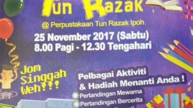 Photo of Tun Razak Library Carnival (25 Nov 2017)