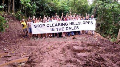 Photo of Tambun Residents' Landslide Worry