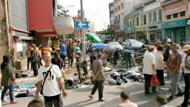 Photo of Down Memory Lane – Traders Encroaching on Main Roads