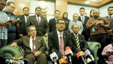 Photo of Faizal's First Media Conference