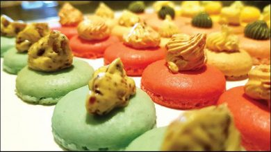 Photo of Savoury Macarons at WEIL