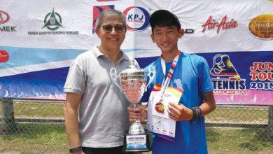 Photo of Mitsuki Leong Emerged Tennis Champ