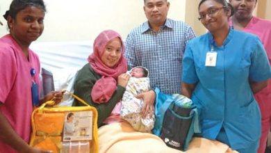 Photo of Newborns for Hari Raya