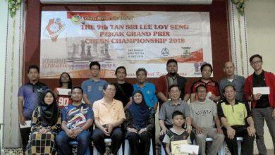 Photo of 9th Tan Sri Lee Loy Seng Perak Chess Championship