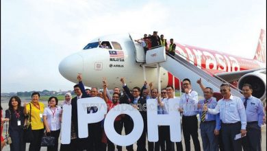 Photo of Ipoh Welcomes AirAsia