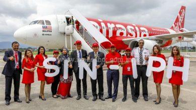 Photo of AirAsia Singapore-Ipoh Flight Commences