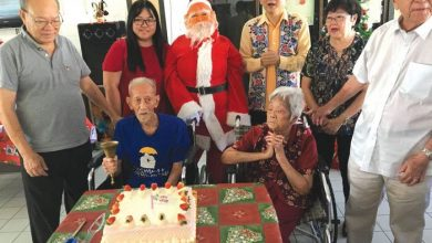 Photo of 101-Year-Old's Birthday Celebration