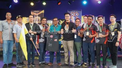 Photo of Perak E-Sports Representatives