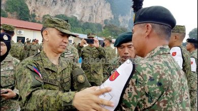 Photo of Joint Military Exercise In Perak