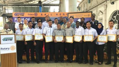 Photo of Awards for Rail Heroes