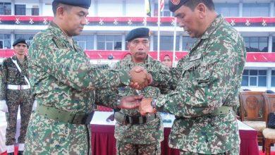 Photo of General Mas'od Bids Farewell