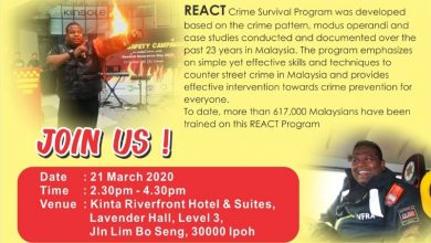 Photo of POSTPONED: REACT Crime Survival Programme (21 Mar 2020)