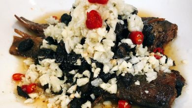 Photo of Recipe: Quick and Easy Fried Dace with Black Beans