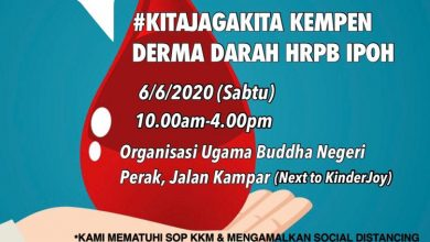 Photo of 14 NGOs to Hold Blood Drive with Ipoh GH