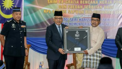 Photo of Royal Malaysia Police Honours Safwan