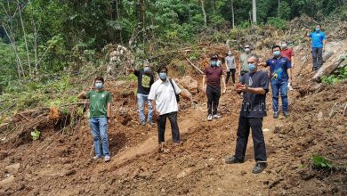 Photo of Petition to Cease Clearing of Hillslopes in Tambun