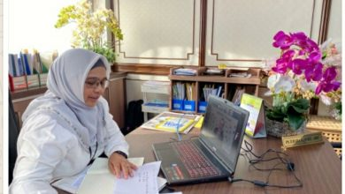 Photo of New Council Secretary Attends International Webinar