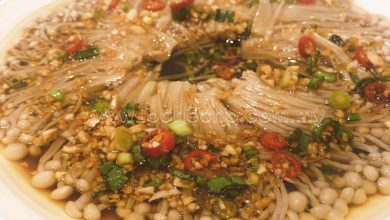 Photo of Recipe: Steamed Enoki