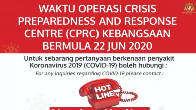 Photo of Hotline: National Crisis Preparedness and Response Centre, Ministry of Health