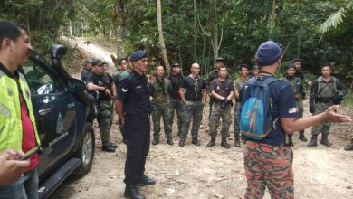 Photo of Hiker Lost in Gunung Korbu