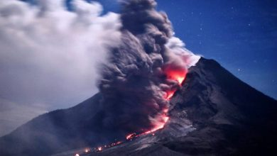 Photo of Sinabung Volcano Ashes Do Not Affect Country API