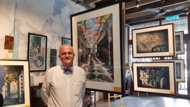 "Photo of Art Exhibition ""Down the Memory Lanes"" Kicks Off"