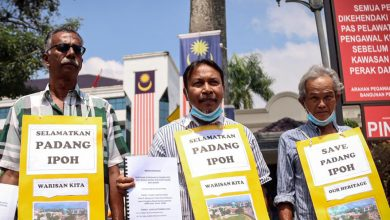 Photo of Objection Against Construction in Ipoh Padang
