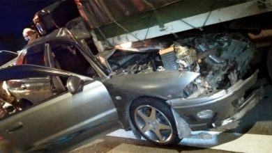 Photo of Proton Wira Driver and Passenger Severely Injured