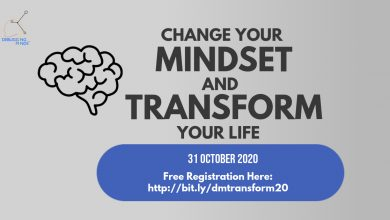 Photo of Change Your Mindset & Transform Your Life (31 Oct 2020)