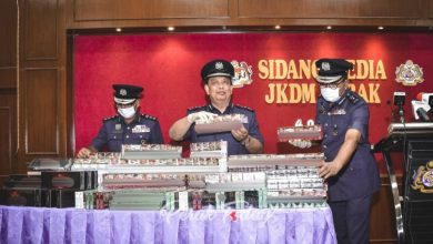 Photo of Cigarettes Worth RM1 Million Seized by Customs Department