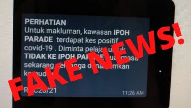 Photo of Ipoh Parade Refutes COVID-19 Rumours Circulating On Mobile Chat Apps