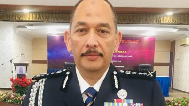 Photo of New Police Chief of Perak