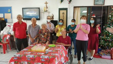 Photo of Festive Cheer for Elderly Folks and An Appeal for Donation