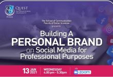 Photo of Building A Personal Brand on Social Media for Professional Purposes (13 Jan 2021)