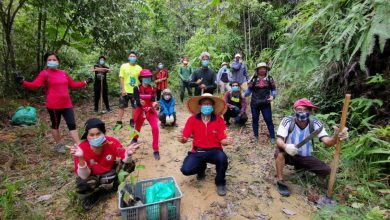Photo of Volunteers Plant Trees at Buntong Waterfall